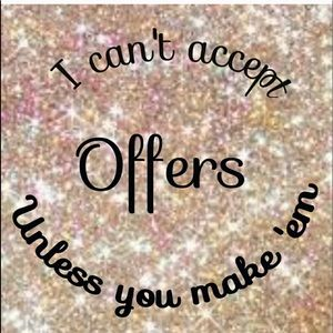 💕💕💕 I LOVE OFFERS💕💕💕